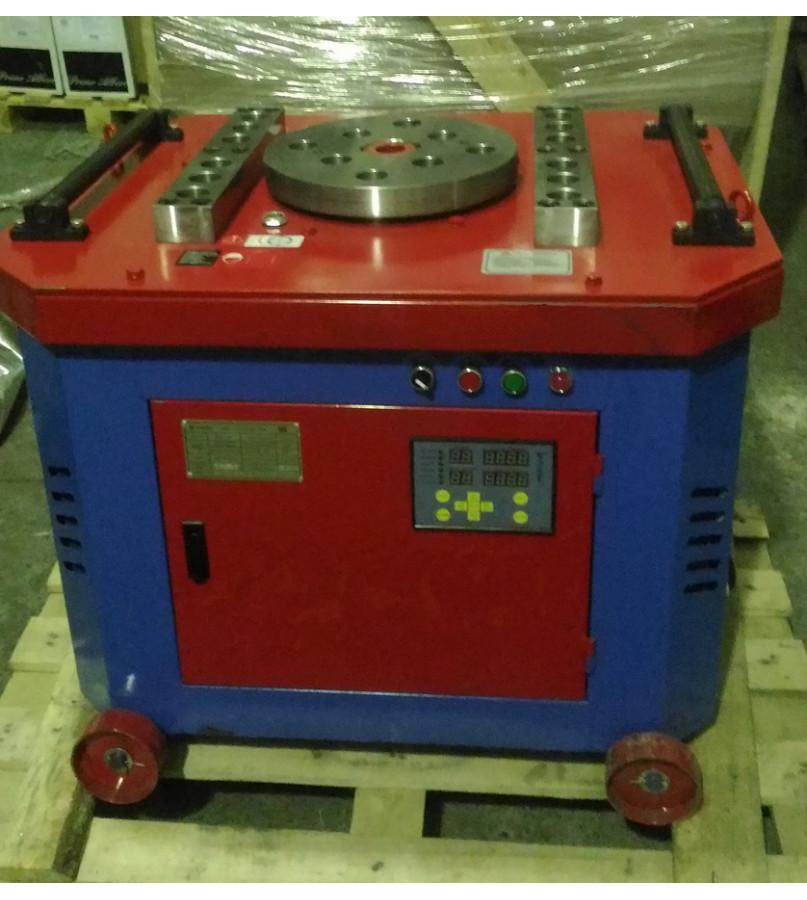 Станок для гибки арматуры GW-40e с электронным табло