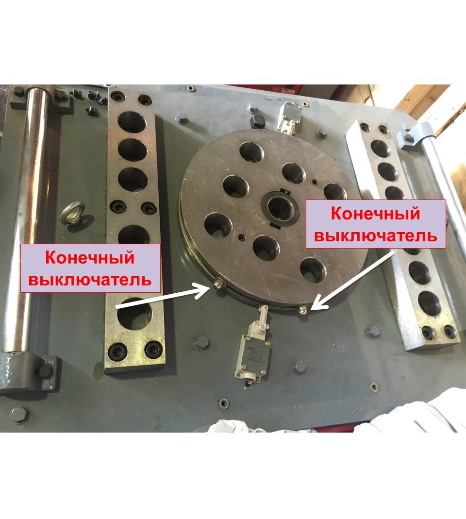 Станок для гибки арматуры с доводчиком GW-50s