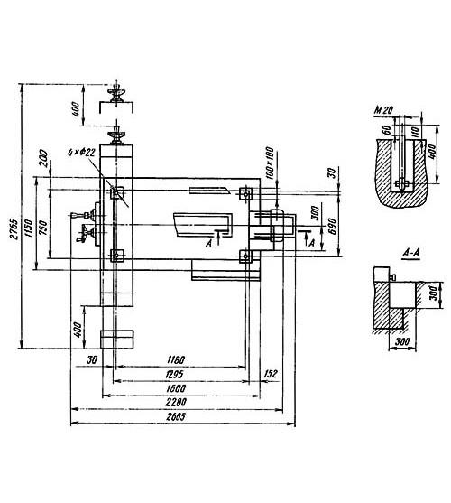 Универсальный фрезерный станок 6Т82Ш