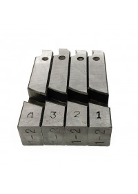 Комплект ножей для ZPM-50 (4 шт.) от 1 до 2 дюймов
