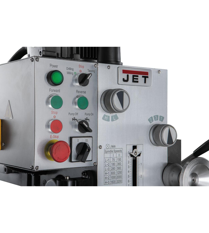 Редукторный сверлильный станок JET JMD-40PFCT