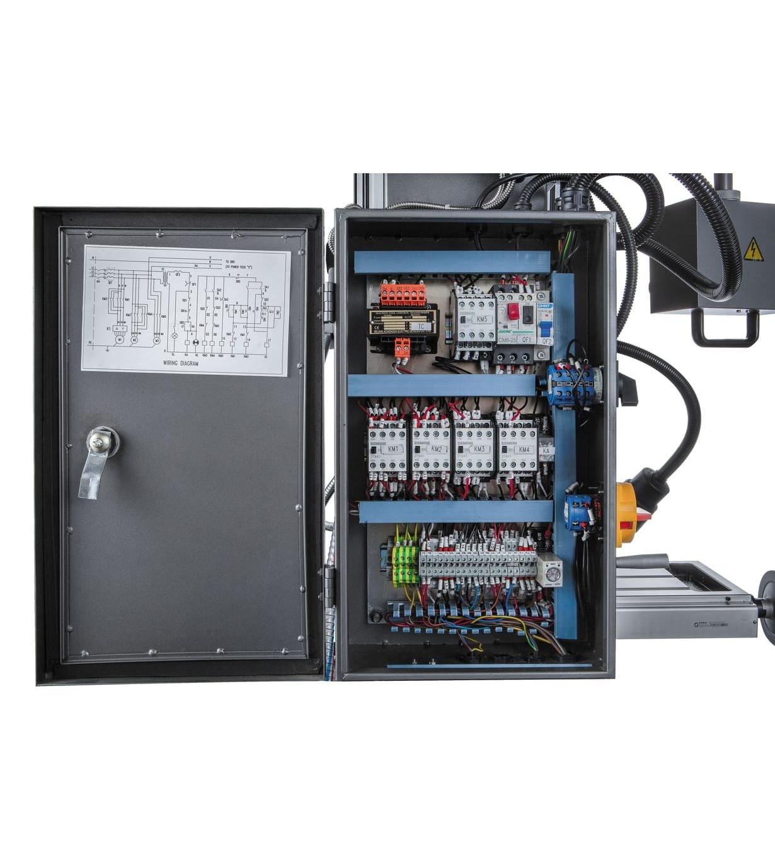 Редукторный фрезерно-сверлильный станок JET JMD-50LPFD
