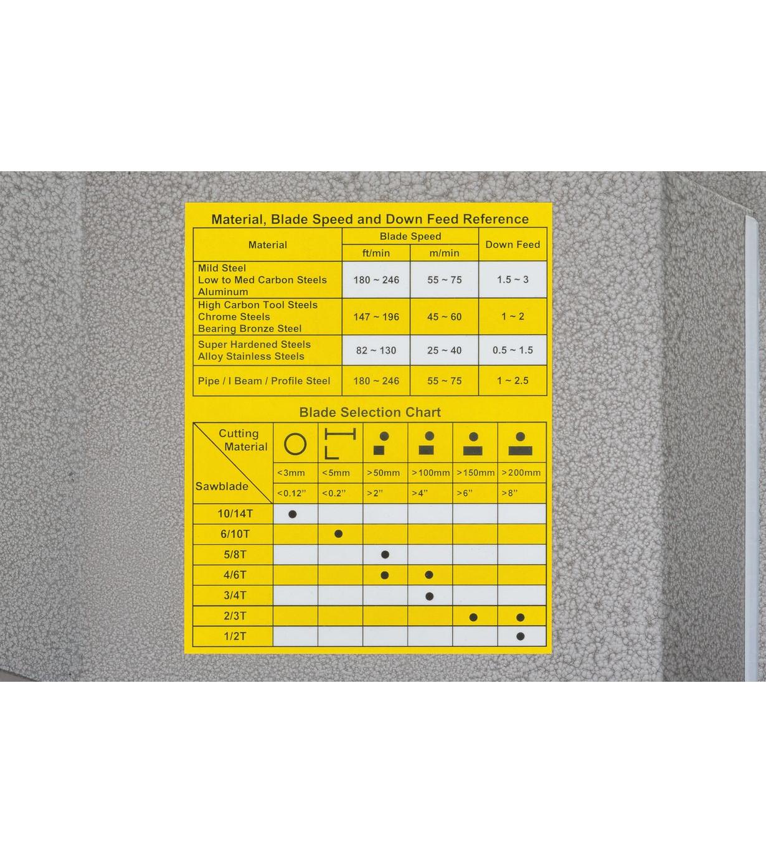 Полуавтоматический ленточнопильный станок JET MBS-1420DASP