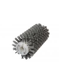 Брашировальная щетка валик Д130х250мм, ворс полимер абразив P46