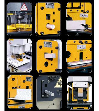 Комбинированные пресс-ножницы Sahinler HKM115