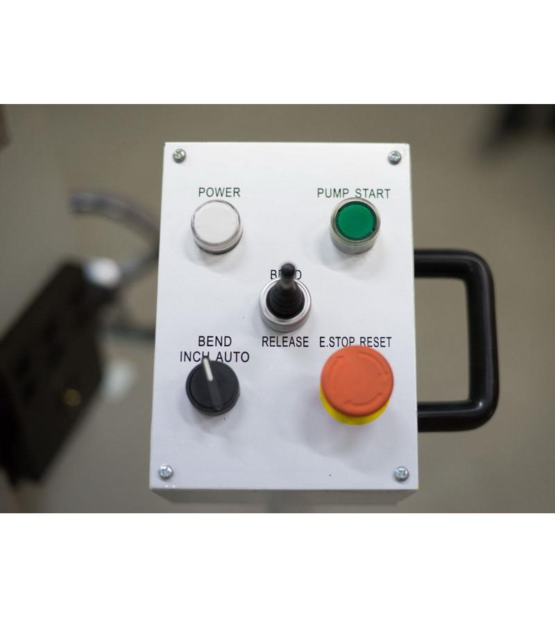 Гидравлический листогиб с поворотной балкой Stalex HW2440x3.5