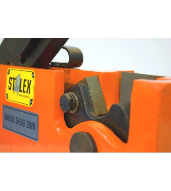Рычажные ножницы по металлу Stalex MS-28