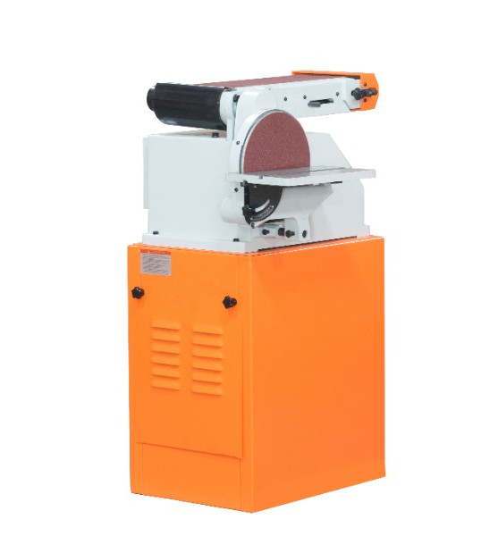 Станок ленточно-дисковый шлифовальный Stalex BTM-250