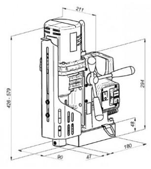 Сверлильный станок на магнитной подушке МС-51