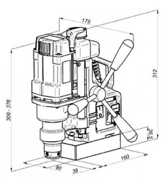 Сверлильный станок на магнитной подушке МС-36