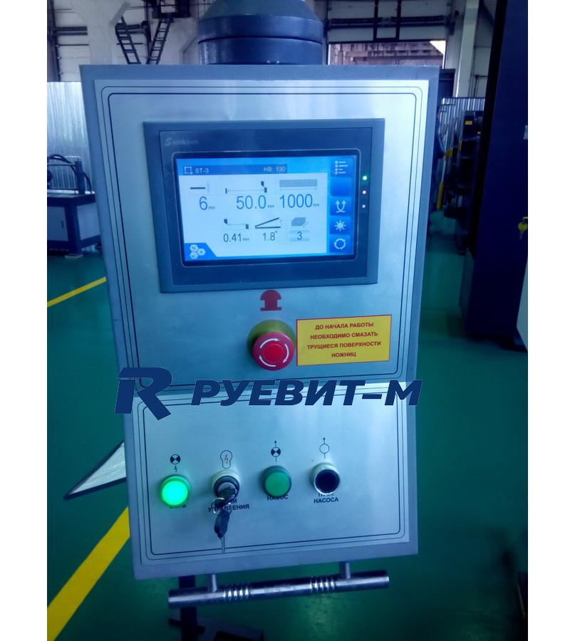 Гидравлическая гильотина по металлу НГ12Г.02 с ЧПУ